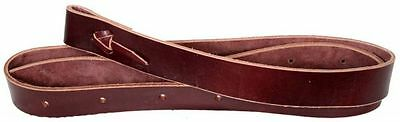 Showman Leather Latigo Tie Strap with Holes 6' X 1.75""