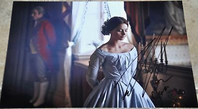 "Jenna Louise Colman Signed 12"" x 8"" Photo Victoria Doctor Who"