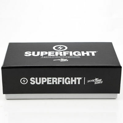 NEW Superfight: 500-Card Core Deck Party Fun Cards Game Board Game UK Seller