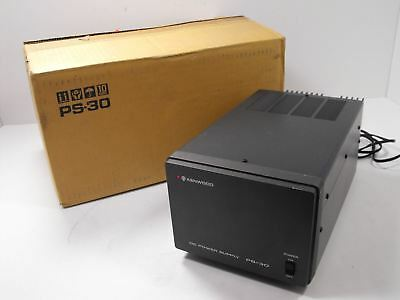 Kenwood PS-30 13.8 VDC @ 20/15 A Power Supply Matches TS-130S w/ Original Boxes