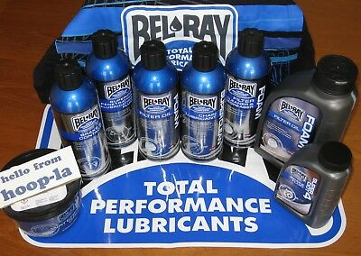 Bel-Ray Motorcycle Products x 8 - Oil/Cleaner/Fluid/Degreaser - Leicester LE3