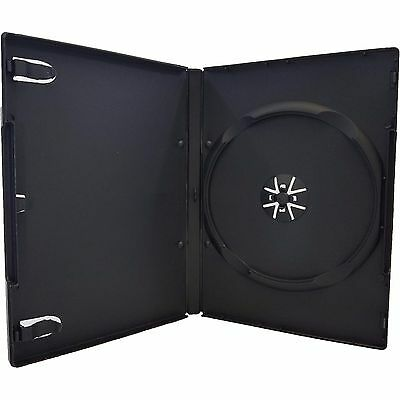 NEW STANDARD Black Replacement Single DVD Case