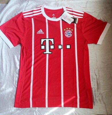 *small* Bayern Munich Home Shirt - 2017/18 - Brand New With Tags