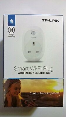 TP-LINK HS110 Smart Wi-Fi Plug with Energy Monitoring.  Amazon Alexa compatible.