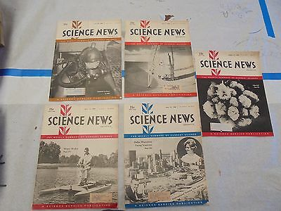 Science News Magazines spring/summer of 1966