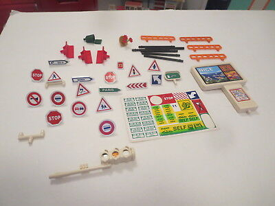 Lot Of Majokit Parts  And Accessories Decals And Signs