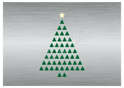 Christmas Tree stencil A5 A4 A3 A2 A1 A0 14cm to 1.2 meters or bigger CMAS008
