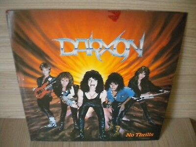 Darxon -Lp - No Thrills - 1987.