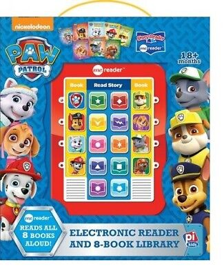 Nickelodeon Paw Patrol Electronic Me Reader & 8 Book Library