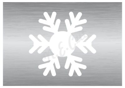Christmas Snow Flake stencil 13 A5 to A0 14cm to 1.2 meters or bigger CMAS096