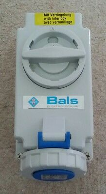 BALS Elektrotechnik Surface Mounting Socket Outlet Switched Interlocked New Box