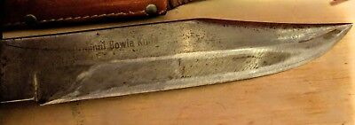 Vintage Edge Brand Solingen Germany Hunting Original 472 Bowie Knife With Sheath