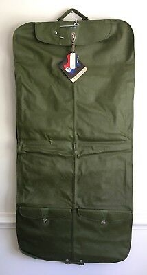 """*NEW* Vintage Green American Tourister Garment Bag Carry On NOS 50"""""""