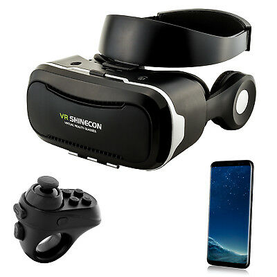 3D VR Brille Virtual Reality für Samsung Galaxy S6 S7 Edge S8+ Note 8 A3 A5 2017