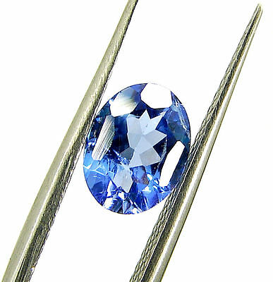 1.22 Ct DGSL Certified Natural Tanzanite Loose Oval Cut Gemstone Stone - 18109