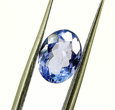 1.38 Ct DGSL Certified Natural Tanzanite Loose Oval Cut Gemstone Stone - 18106