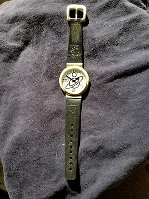 Peter Max Save The Rain Forest Wristwatch. 1988 Planet Watch.