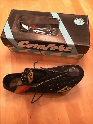 Vintage Eroica NOS Detto Cycling Shoes 80s Size 8
