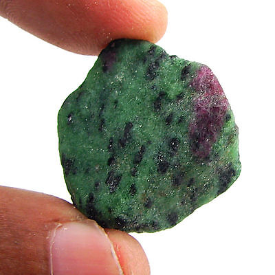 78.00 Ct Natural Ruby Zoisite / Anyolite Loose Gemstone Rough Specimen - 10101