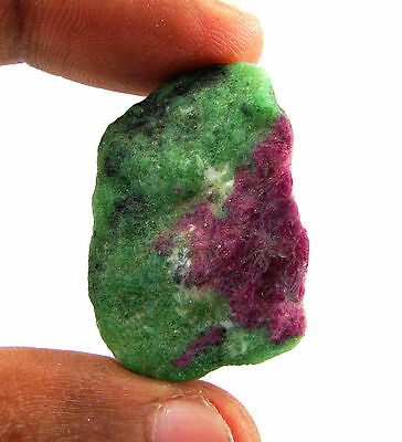 78.00 Ct Natural Ruby Zoisite / Anyolite Loose Gemstone Rough Specimen - 10072