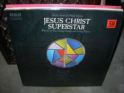 LIVING STRINGS & VOICES jesus christ superstar ( rock ) SEALED NEW