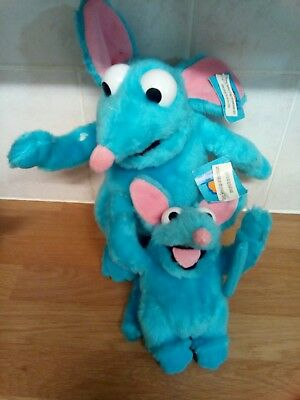 TUTTER MOUSE BEAR IN THE BIG BLUE HOUSE SOFT TOYS Plush Cuddly Toy