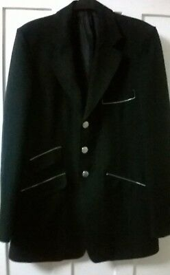 Cotswold mens /youths black , riding/show jacket - Size UK40 Slim fit