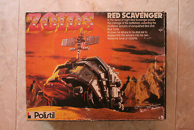 ZOIDS RED SCAVENGER TOMY Made in Japan 1986 NEW IN BOX