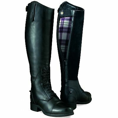 Ariat Ladies Bromont Tall H2O Insulated Winter Field Boot With Zip Nib Closeout