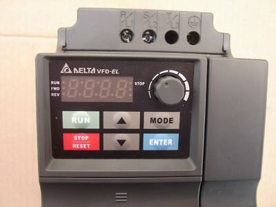 New Delta VFD-EL inverter drive 1.5kW with EMC filter