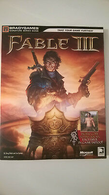 Fable 3 III Lösungsbuch Limited Strategy Guide Strategie Ratgeber wie NEU