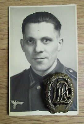 100% original German ww2 Medal and Photo - wehrmacht Luftwaffe
