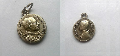 2 Papstmedaillons Pius XII. / medaglioni di Papa Pio XII / Pope medals Pius XII