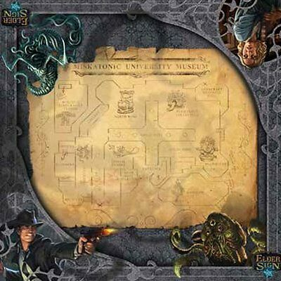 Playmat Elder Sign Museum Gamemat