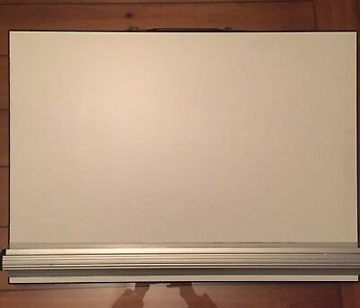 A2 Drawing Board Tabletop Carry Handle And Tilted Legs Parallel Motion