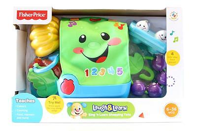 Fisher Price Sing 'n Learn Shopping Tote Songs Tunes & Phrases  New