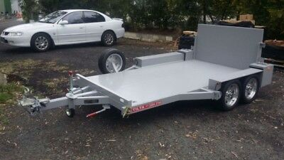 Small Plant Machinery Trailer - Sweeper Trailer