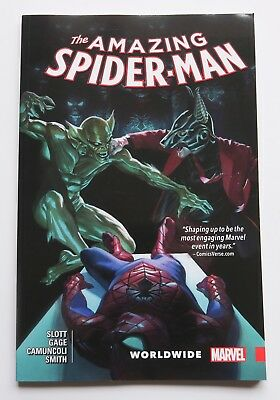 Amazing Spider-Man Worldwide Vol. 5 Marvel Graphic Novel Comic Book