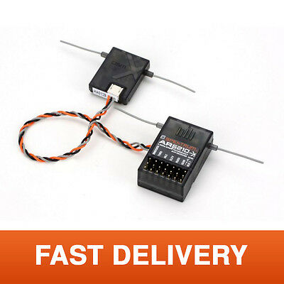 Spektrum AR6210 DSM2/DMSX 6-Channel Aircraft Receiver for RC Plane & Helicopter