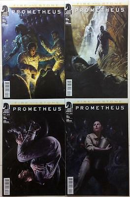 Prometheus Fire and Stone complete series #1,2,3 & 4 (2014 Dark Horse)