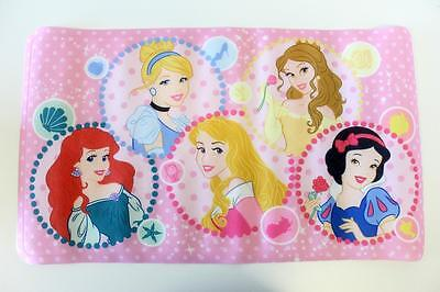 Disney Princess Girls Pink Non Slip Bath Mat Bathtime Safety