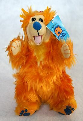 NWT New Jim Henson Disney Bear In The Big Blue House Plush Stuffed Animal Teddy