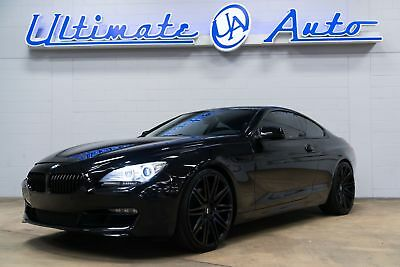 "2012 BMW 6-Series Base Coupe 2-Door 22"" XO Luxury Wheels. Gloss Black Ext Trim. Heated/Ventilated Seats. Navigation."