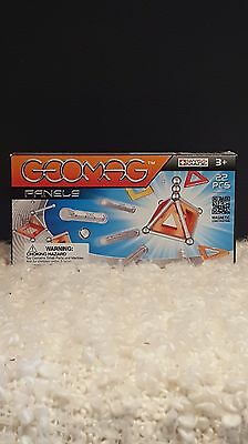 Swiss Made Geomag Construction Set with Assorted Panels - 22 Piece