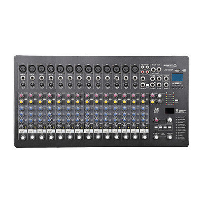 BST LAB16-DSP Professional Mixing Desk Mixer FX USB Band Studio Kar