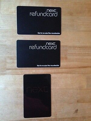 Next Gift Card & Next Refund Card  x 2 £52