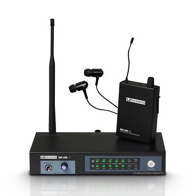 LD Systems MEI ONE IEM In Ear Monitoring System Inc Headphones & Rack Kit Band