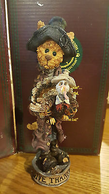 Boyds Thanksgiving folkstone figurine collection