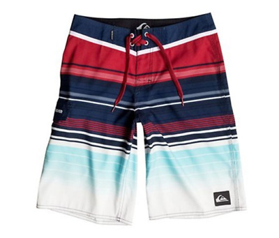 Quiksilver Right On Right On Board Boys Shorts, Multi-Color Size: 28