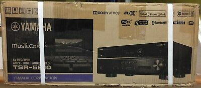 Yamaha Tsr-5810 Av 7.2 Ch Dts X Receiver Amplifier Tuner Audio Video Hdmi Wifi